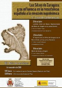 screenshot091153er Ciclo de Conferencias sobre los Sitios de Zaragoza en la Guerra de Independencia