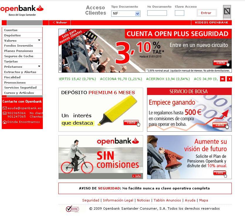 phising openbank