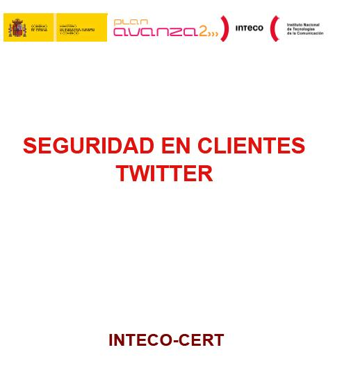informe seguridad twitter inteco