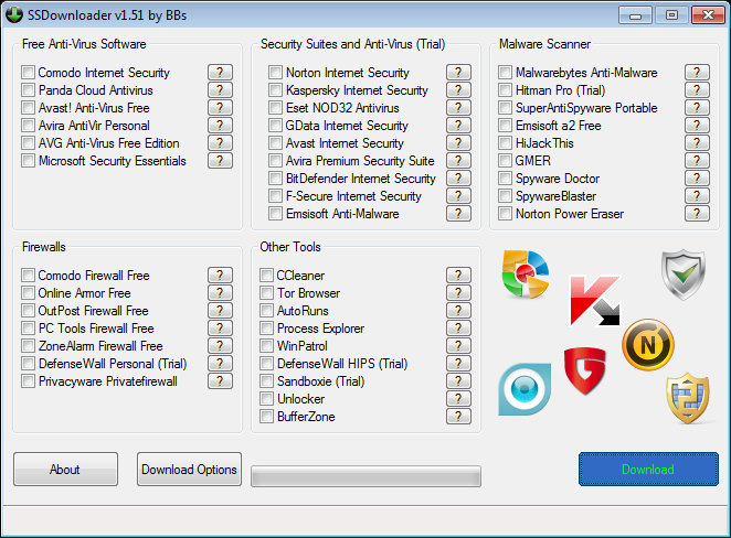 security-software-downloader