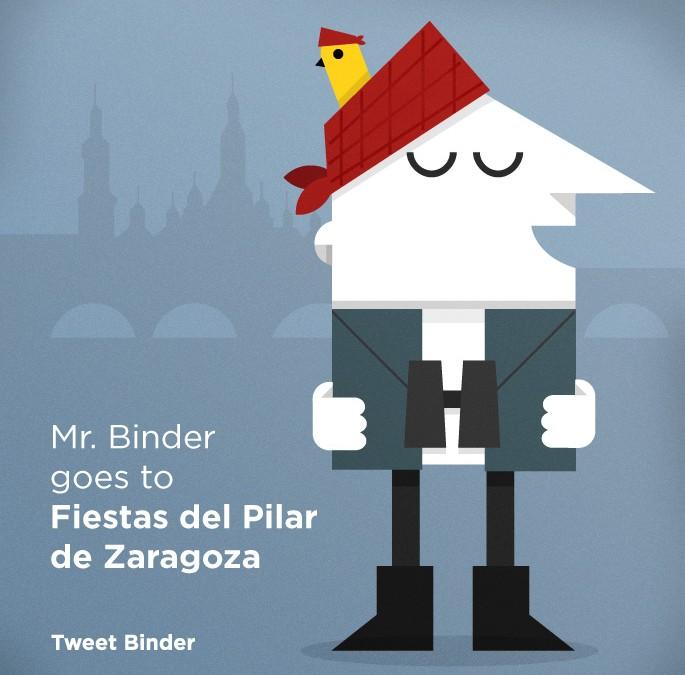 #Pilar14 y los tweets en la Plaza del Pilar