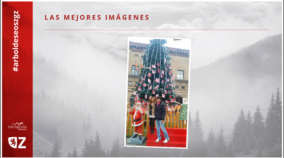 El árbol de los deseos de Zaragoza
